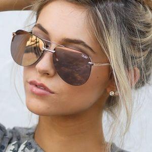 Quay La Playa Sunglasses - Pink